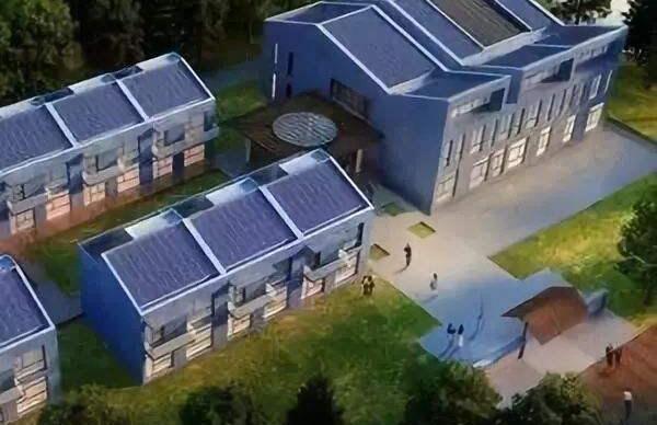 被动房太阳能光伏发电可再生能源解决方案